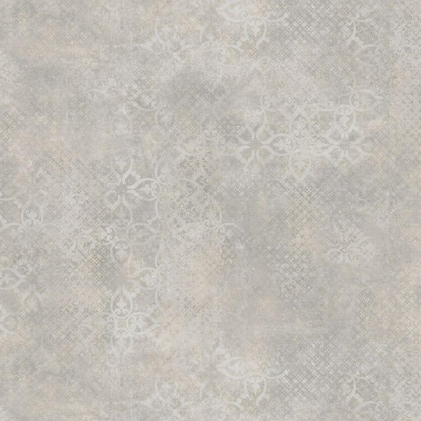 Sol PVC beige motifs imprimés Imola 400cm