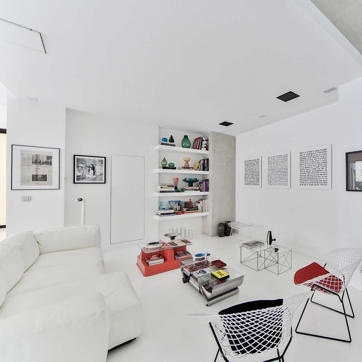 Peinture blanc velours murs et plafonds Renaulac 10l