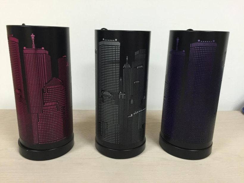 Lampe touch nyc noir