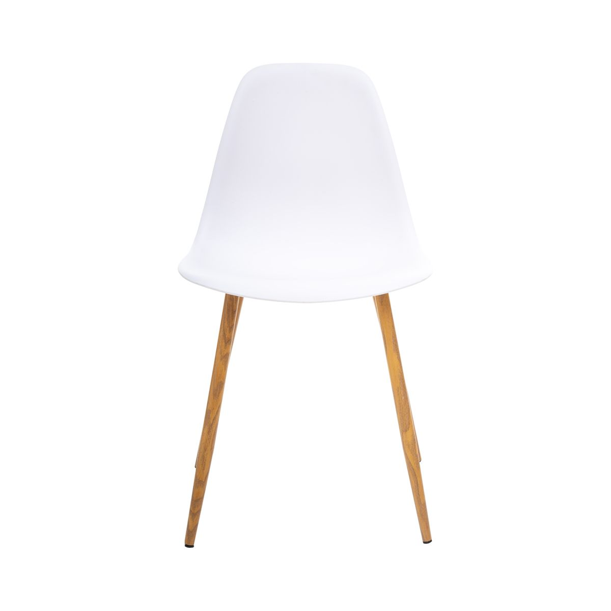 Chaise scandinave blanche