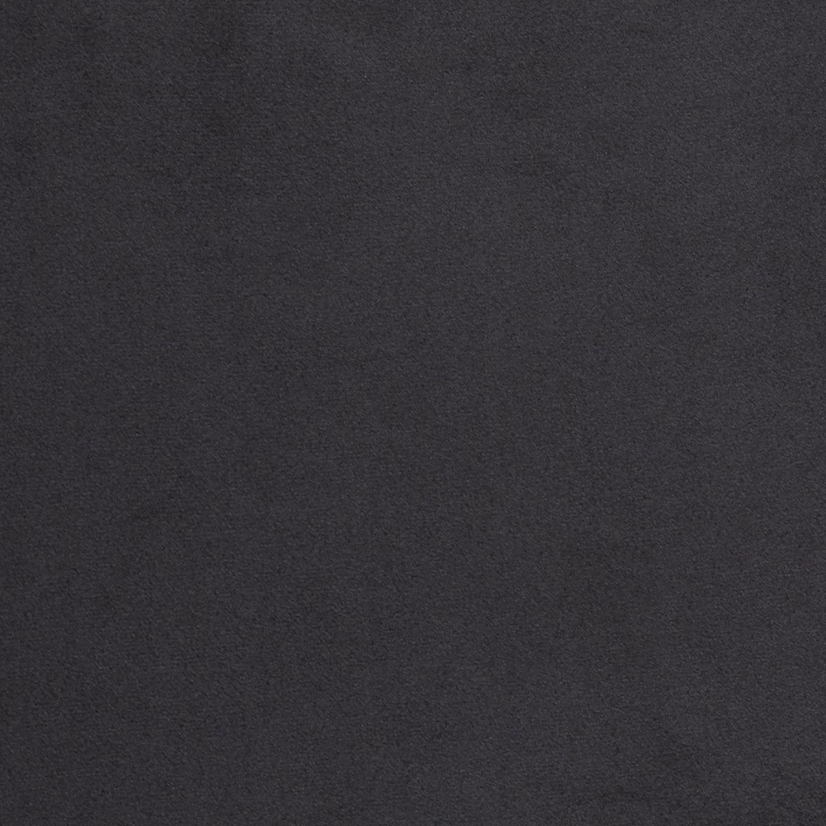 Fauteuil contemporain structuré en velours noir