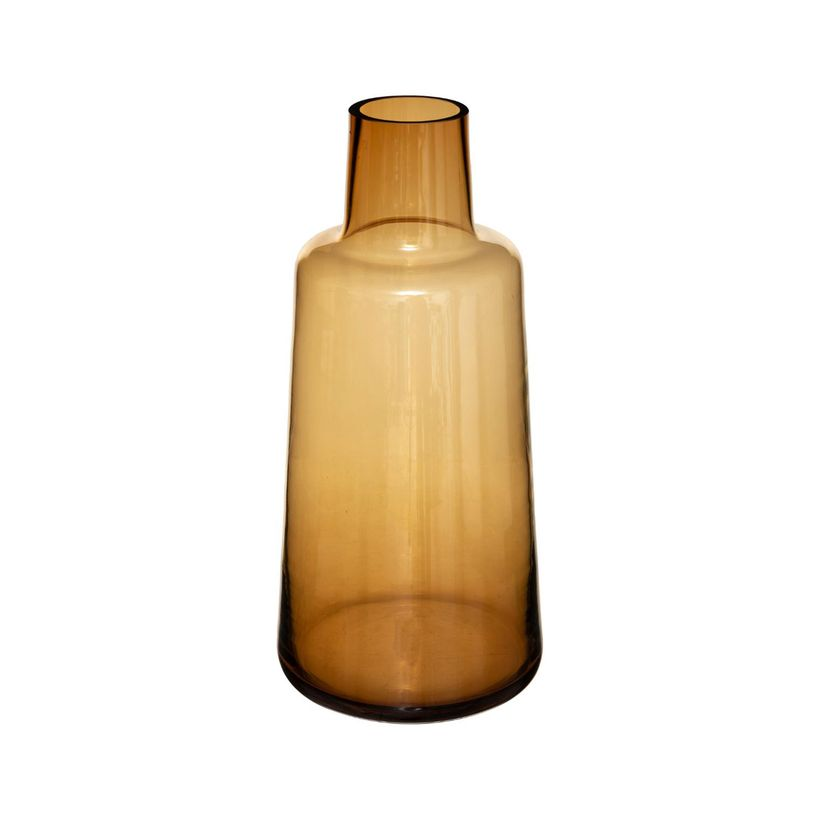 Vase épaule ocre H.40 cm