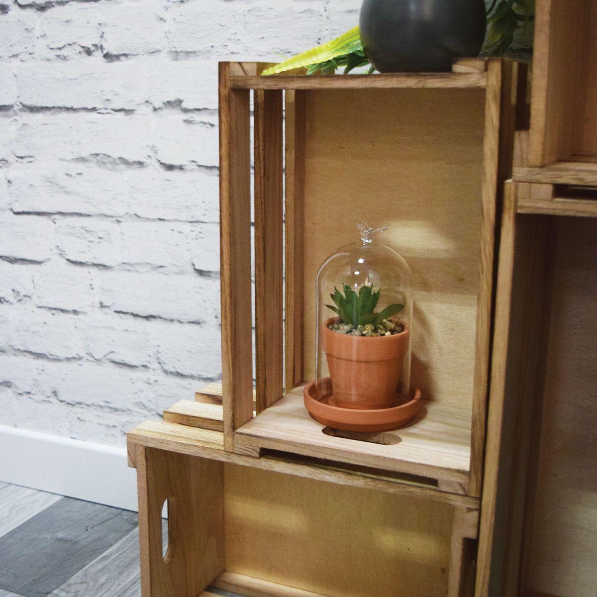 Cagette en bois de paulownia M