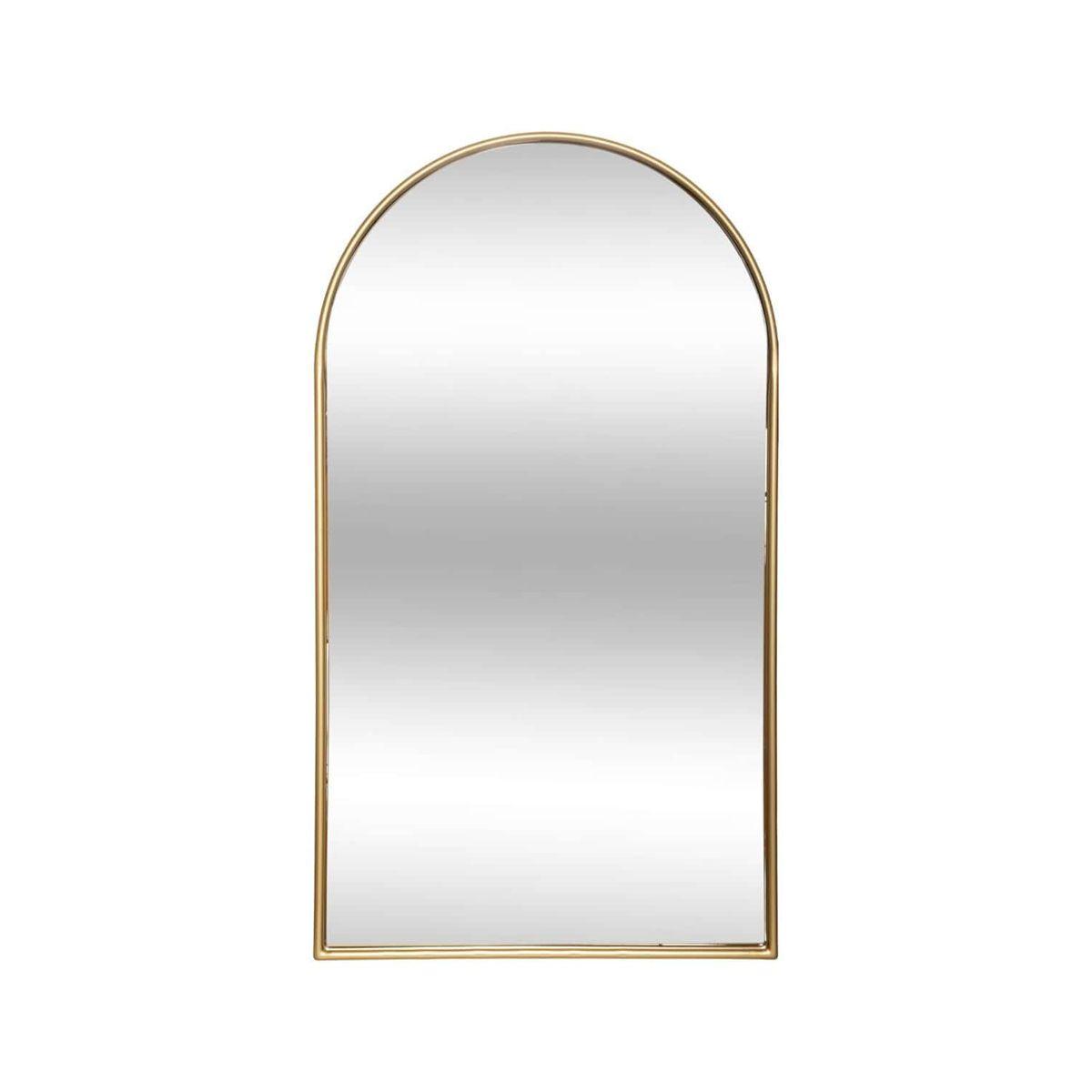 Miroir fenêtre doré