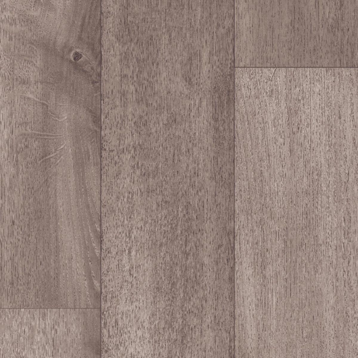 Sol PVC lame gris aspect métal Aoste 400cm
