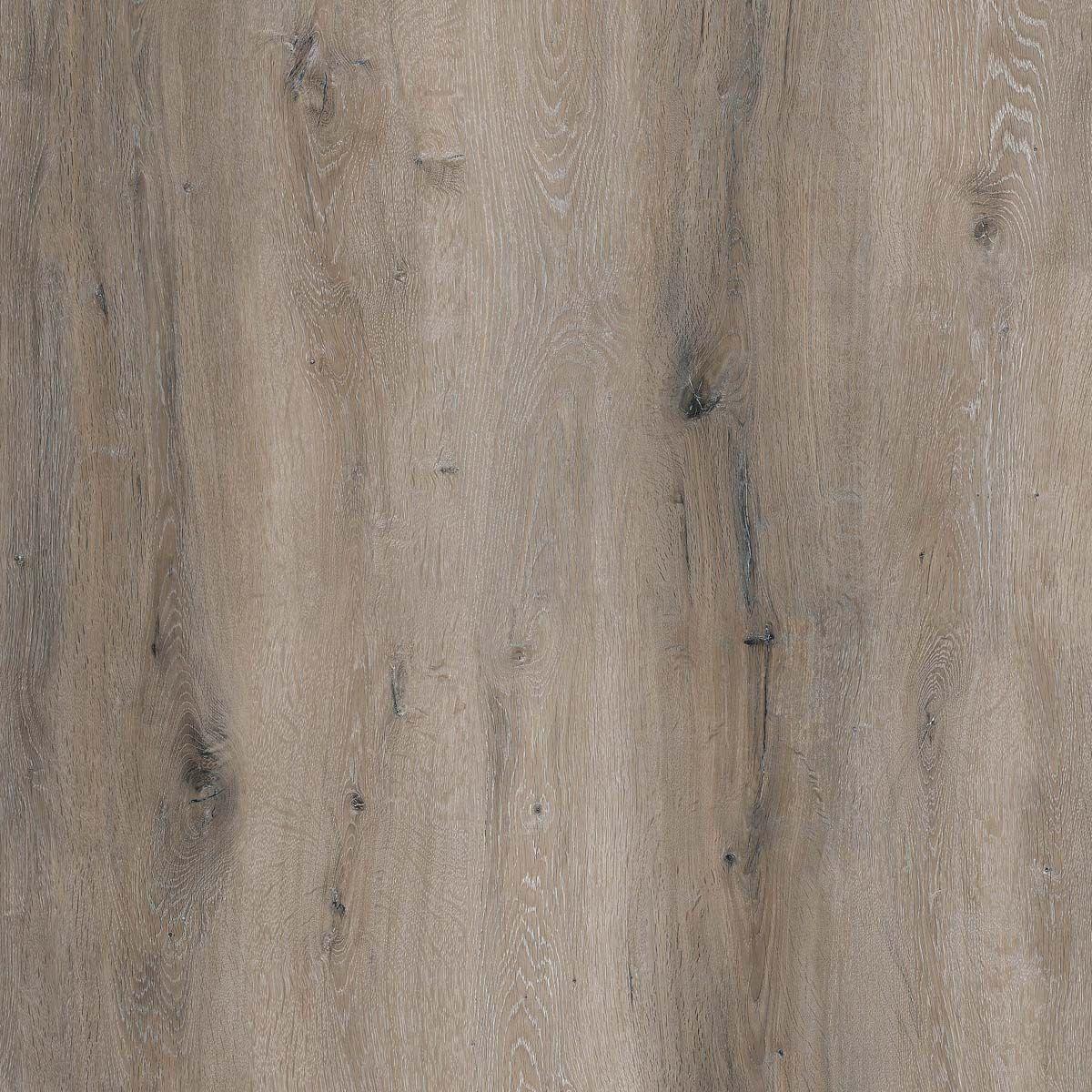 Lame PVC clipsable XXL bois marron blanchi 5mm Teramo