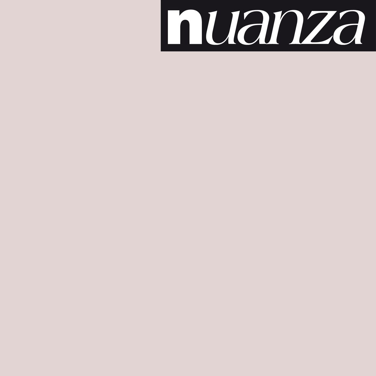 Peinture Nuanza satin monocouche rose pale 0.5l