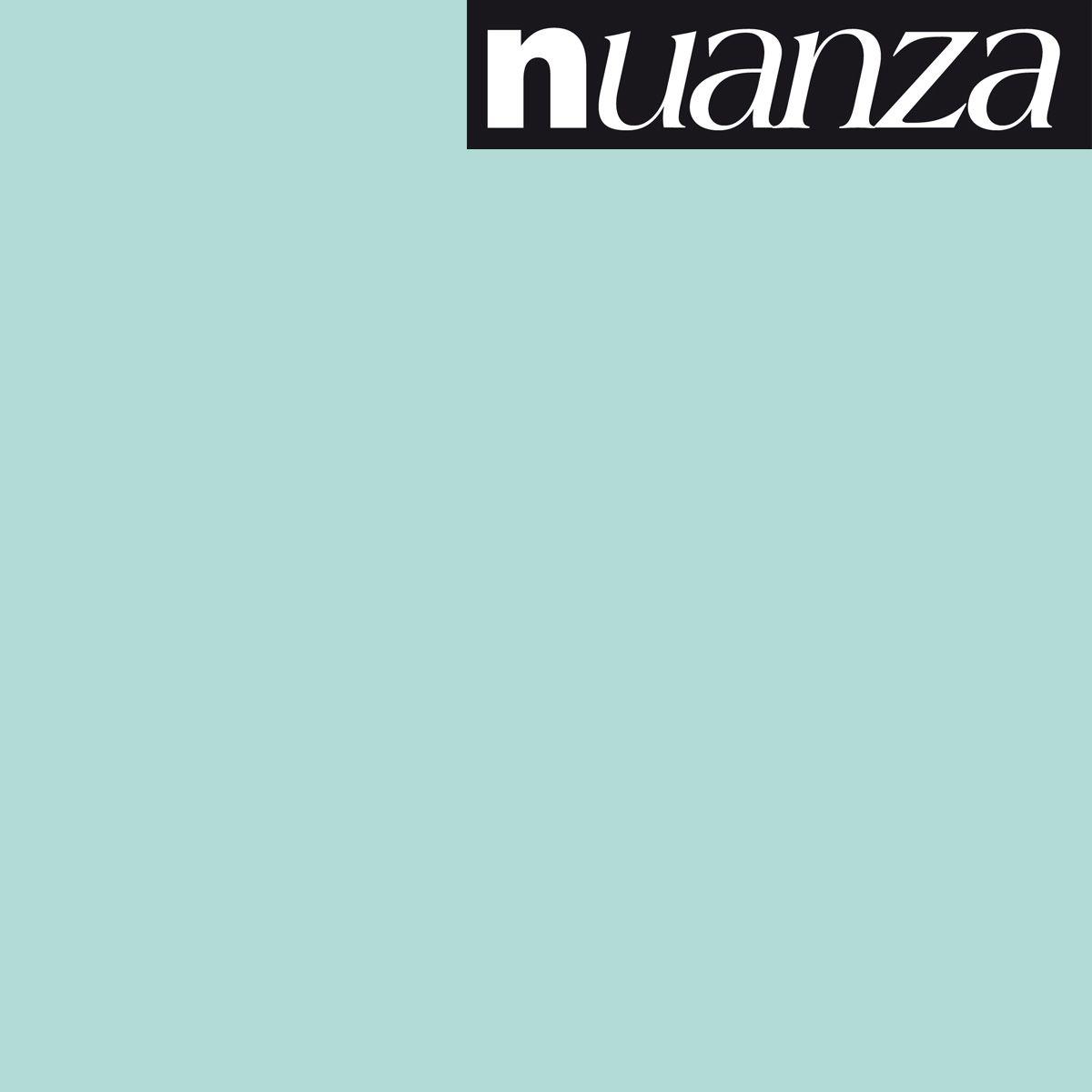 Peinture Nuanza satin monocouche menthe 2.5l