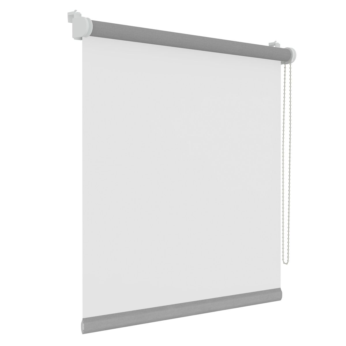 Store enrouleur tamisant blanc Myrdall 57x160 cm