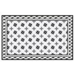 Tapis vinyle motif mosaiques avec bordure 50x79 cm