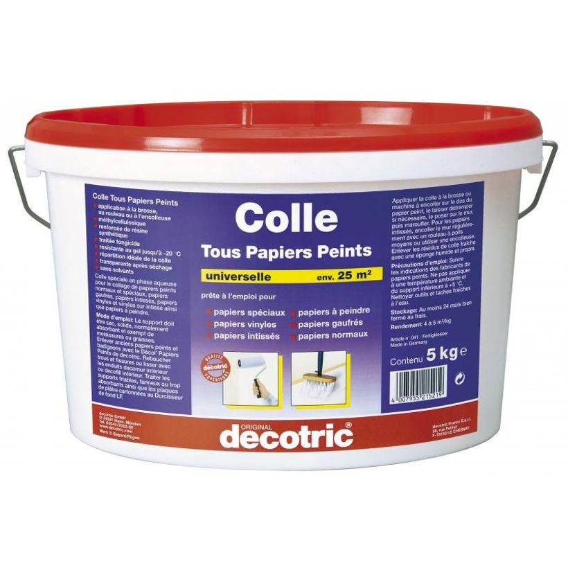Colle prête à l'emploi tout papier peint - 5kg