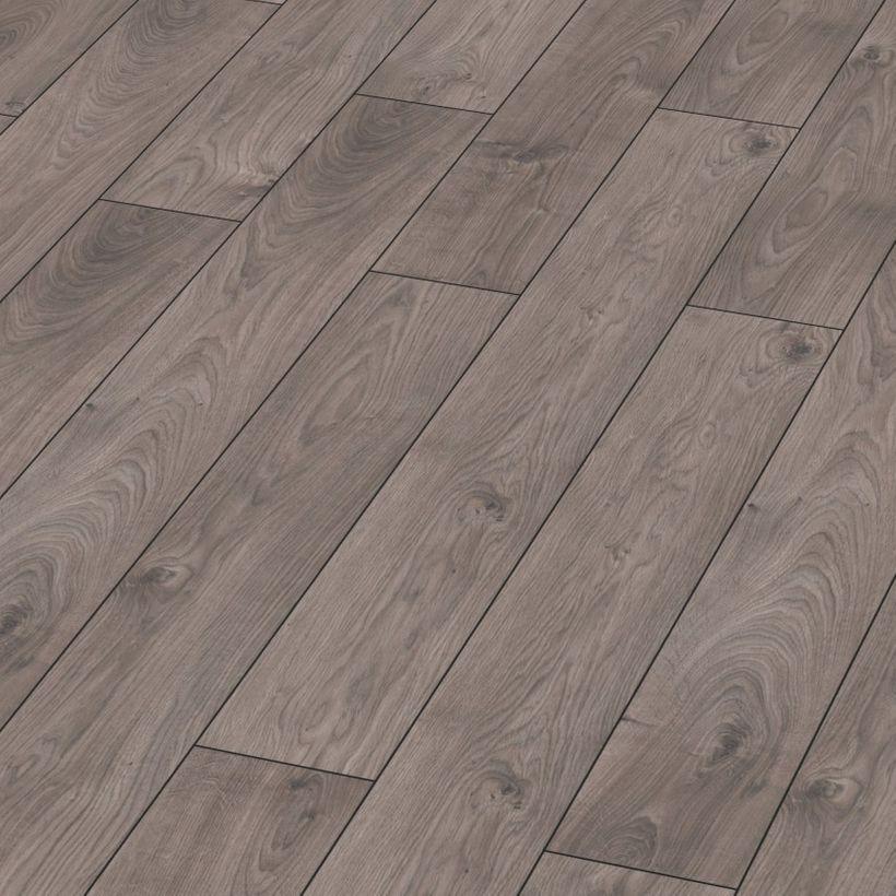 Stratifié Toronto robusto chêne taupe gris 188x1375mm