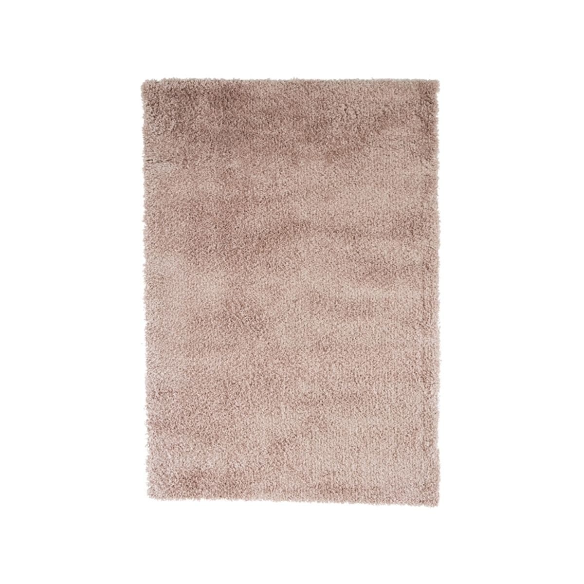 Tapis shaggy rose dragée Softy 120x170 cm