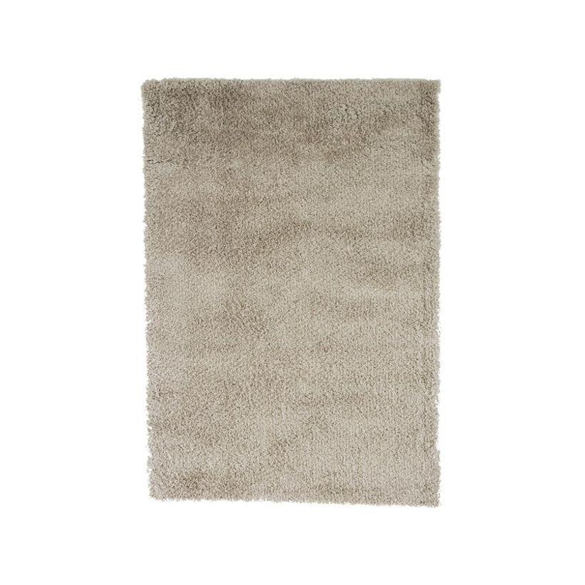 Tapis shaggy blanc nuage Softy 60x110 cm