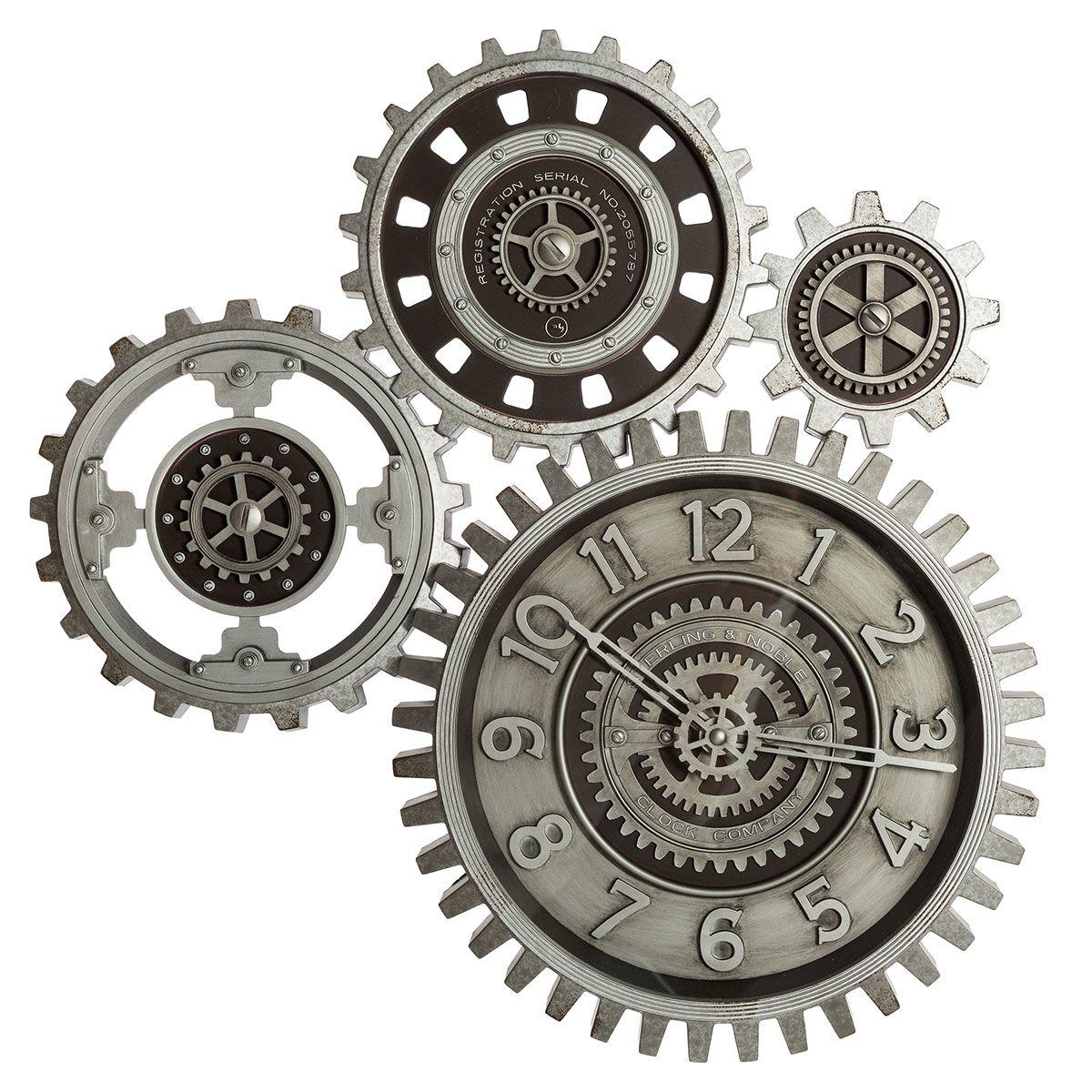 Pendule mécanique grise